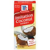 McCormick Imitation Coconut Extract -1 oz