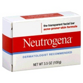 Neutrogena Acne Cleansing Bar Soap - 3.5 Oz