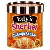 Dreyers / Edys Orange Cream Sherbet