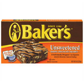 Baker's Unsweetened Chocolate Baking Squares  - 8 oz