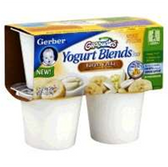 Gerber Yogurt Blends Banana Vanilla Yogurt