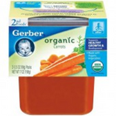 Gerber Organic 2nd Food -  Carrots