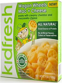 KidFresh - Wagon Wheels Mac & Cheese -1 meal
