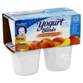 Gerber Yogurt Blends Peach Yogurt