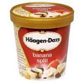 Haagen Dazs Banana Split Ice Cream -1.5 qt