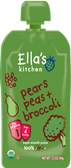 Ella's Kitchen - Broccoli, Pears, & Peas -3.5oz