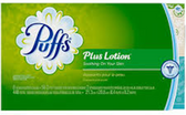 Puffs Extra Strength Facial Tissue(large box)