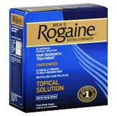 Mens Rogaine Extra Strength Unscented Hair Growth Treatment