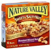 Nature Valley Roasted Mixed Nut Sweet & SaltyNut Granola Bar-6pk
