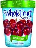 Whole Fruit - Black Cherry Sorbet -16oz
