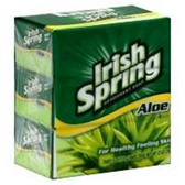 Irish Spring Aloe Bar Soap - 3-4 Oz