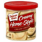 Duncan Hines Creamy Home-Style Cream Cheese -16oz