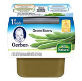 Gerber All-Natural - Green Beans -2ct