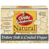 Orville Redenbacher's Buttery Salt & Cracked Pepper Popcorn-4 pk