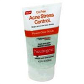 Neutrogena Oil Free Acne Stress Control Facial Scrub -4.2 Fl. Oz