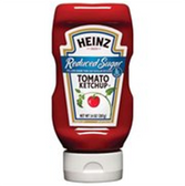 Heinz Ketchup Reduced Sugar -14 oz