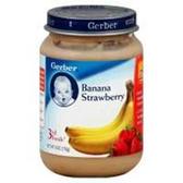 Gerber Baby 3rd Food - Banana Strawberry
