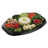 Deluxe Vegetable Relish Party Tray - Medium 10-15 Servings