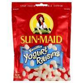 Sun Maid Raisin Yogurt Vanilla -8 oz