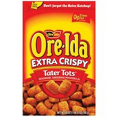 Ore Ida Extra Crispy Tater Tots -28 oz