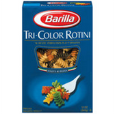Barilla Rotini Tri Color Pasta  - 12 oz