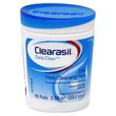 Clearasil Stayclear Daily Pore Cleansing Pads - 90 Count
