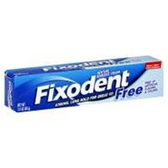 Fixodent Free Denture Adhesive Cream - 2.4 Oz
