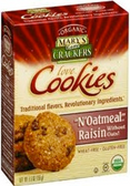 Mary Gone Crackers Love Cookies - N'Oatmeal Raisin -6.5oz