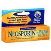 Neosporin Plus Maximum Strength Cream - .5 Oz
