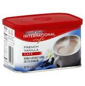 Maxwell House Instant Coffee French Vanilla -8.4 oz