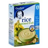 Gerber Baby Cereal - Rice Mixed Fruit