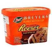 Breyers Reeses With Fudge Ice Cream -1.5 qt