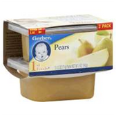 Gerber Baby First Food - Pears