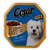 Cesar New York Strip With Gravy Dog Food - 3.5 Oz