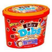 Dreyers /Edys Dibs Vanilla IceCream W/ Crunch Coating Snacks-9oz