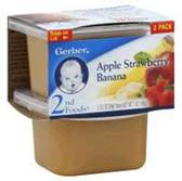 Gerber Baby 2nd Food - Apple Strawberry Banana