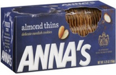 Anna's Almond Thins -5.25oz