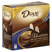 Dove Miniatures Milk Chocolate And Vanilla Ice Cream Bars 3 pk