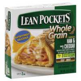 Lean Pockets Frozen Food Whole Grain Ham And Cheddar-9oz