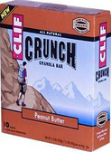 Cliff Crunch Bar - Peanut Butter -5 bars