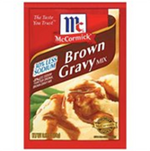 McCormick Brown Gravy Reduced Sodium Mix -0.87 oz