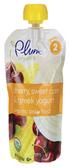 Plum Organics - Cherry, Sweet Corn, & Greek Yogurt -4oz