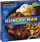 Hungry Man - Home-style Meatloaf -1 meal