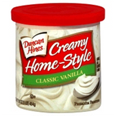 Duncan Hines Creamy Home-Style Classic Vanilla -16 oz