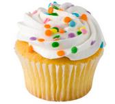 White Iced White Cupcakes - 12 ct