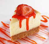 Strawberry Cream Cheese Cheese Cake -1ct