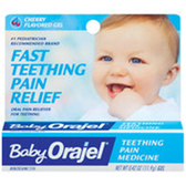 Baby Orajel for Teething Oral Pain Cherry Flavored