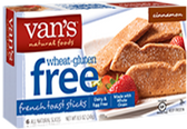Van's Natural Foods-GlutenFree Cinnamon French Toast Stick-8.5oz