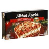 Michael Angelos Frozen Meat Lasagna -11oz