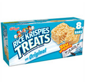 Kellogg's Marshmallow Rice Krispy Treats Original-8 pk